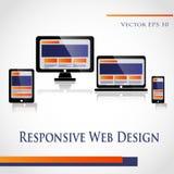Design web Fotografia de Stock Royalty Free