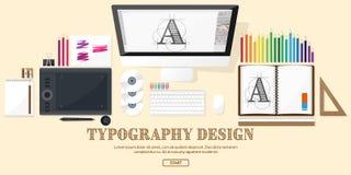 Design web gráfico Desenho e pintura Foto de Stock