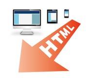 Design web responsivo Fotos de Stock