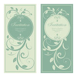 Design of wedding invitation Royalty Free Stock Image