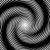Design whirlpool movement illusion background Royalty Free Stock Photos