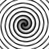 Design whirlpool movement illusion background Stock Images