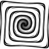Design whirlpool movement illusion background Royalty Free Stock Photo