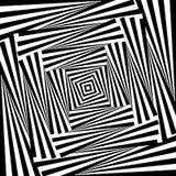 Design whirlpool movement illusion background Stock Photos