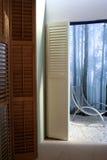 Design of windows in interior Stock Image