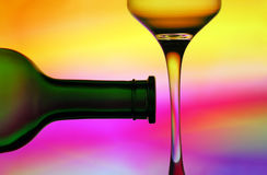 Design wine abstract stock image