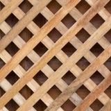 Design of wood wall panel plank cross Stock Photos