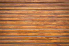 Design of wood wall texture background, wooden stick varnish Stock Image