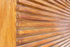 Design of wood wall texture background, wooden stick varnish Royalty Free Stock Photos