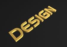 Design word Stock Photo