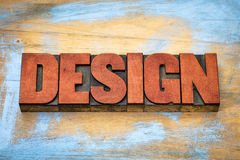 Design word abstract typography Stock Images