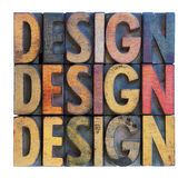 Design word abstract typography Stock Photography