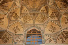 Design work over door, isfahan, iran Royalty Free Stock Photography