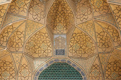 Design work over door, isfahan, iran Stock Photos