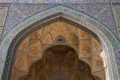 Design work over door, isfahan, iran Royalty Free Stock Photos