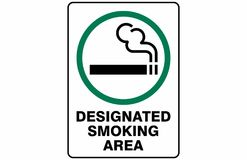 Free Designated Smoking Area Symbol Sign Vector Stock Photo - 117219720