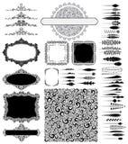 Designbeståndsdelar Fotografering för Bildbyråer