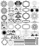 Designbeståndsdelar Arkivbild