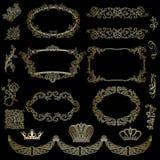 Designbeståndsdelar Royaltyfria Foton