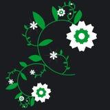 designblomma stock illustrationer