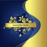 designblommavektor Royaltyfri Bild
