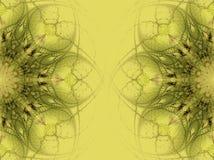 designblommor vektor illustrationer