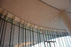 Designdetaljer av inre av en byggnad arkivbild