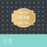 Designe de Tmplate com pictogramm ilustração do vetor