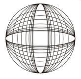 Designe del cerchio Immagine Stock