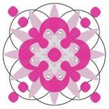 Designe del cerchio Immagini Stock