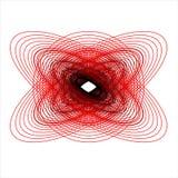 Designe del cerchio Fotografia Stock