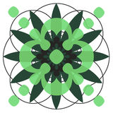 Designe del cerchio Immagini Stock Libere da Diritti