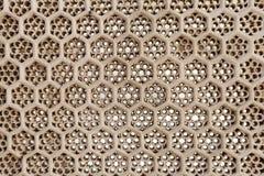 Designe der ventillated Wände von Diwan-i-khas Lizenzfreies Stockbild