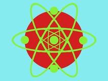 Designe di scienza del cerchio Fotografia Stock