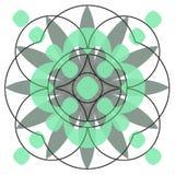 Designe do círculo Imagem de Stock Royalty Free