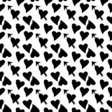 Designe noir de Dot Background de polka illustration de vecteur
