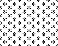 Designe noir de Dot Background de polka illustration libre de droits