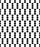 Designe noir de Dot Background de polka illustration stock