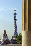 Designed by Antonio Gaudi Stock Images
