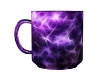 Designed coffee mug Stock Image