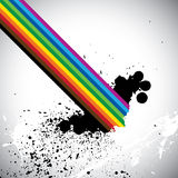 Designed color spectrum. Royalty Free Stock Image