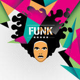 Designed funk background. Designed funk background in color Stock Photography