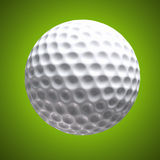 Designed golf background Stock Photography