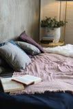 designed home interior living retro room style Στοκ Εικόνες