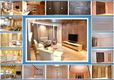 designed home interior living retro room style Στοκ εικόνα με δικαίωμα ελεύθερης χρήσης