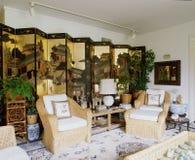 designed home interior living retro room style Στοκ Φωτογραφίες