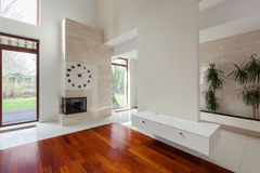 Designed living room Royalty Free Stock Photo