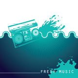 Designed music background. Stock Photo