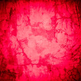 Designed red grunge plastered wall texture, background Royalty Free Stock Images