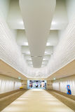 Designed space  for the departure at Narita Airport Stock Images